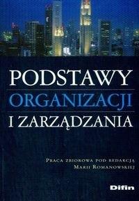 Okładka książki Podstawy organizacji i zarządzania