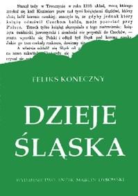 Okładka książki Dzieje Śląska