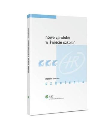 Okładka książki Nowe zjawiska w świecie szkoleń