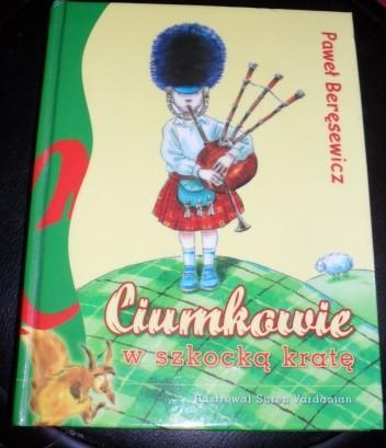 Okładka książki Ciumkowie w szkocką kratę
