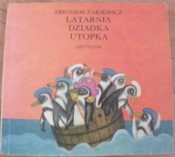Okładka książki Latarnia dziadka Utopka
