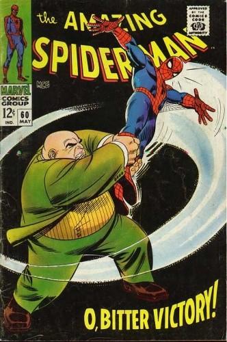 Okładka książki Amazing Spider-Man - #060 - O, Bitter Victory!