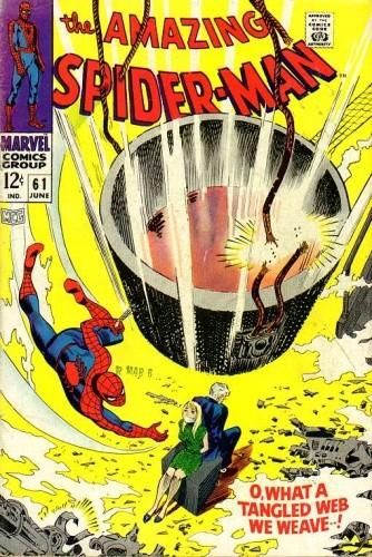 Okładka książki Amazing Spider-Man - #061 - What a Tangled Web We Weave...!