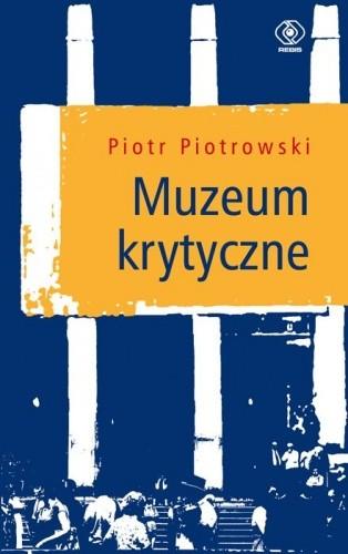 Okładka książki Muzeum krytyczne