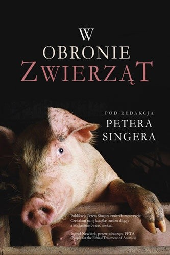 Okładka książki W obronie zwierząt