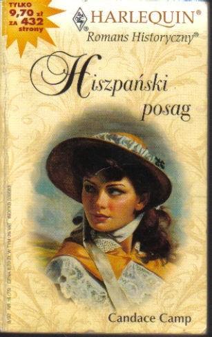 Okładka książki Hiszpański posag