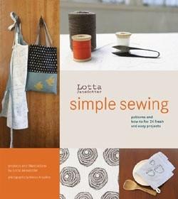 Okładka książki Lotta Jansdotter's Simple Sewing