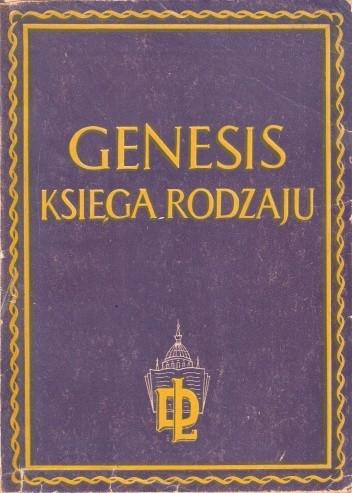 Okładka książki Genesis. Księga Rodzaju