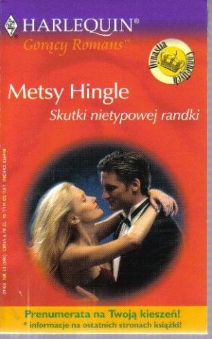 Okładka książki Skutki nietypowej randki