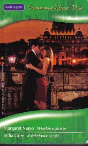 Okładka książki Włoskie wakacje. Kolekcjoner sztuki