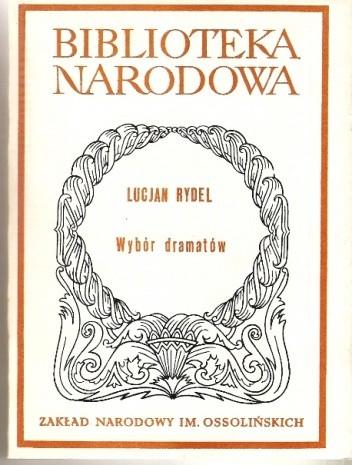 Okładka książki Wybór dramatów
