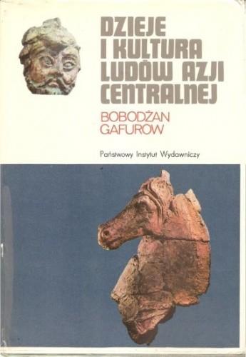 Okładka książki Dzieje i kultura ludów Azji Centralnej