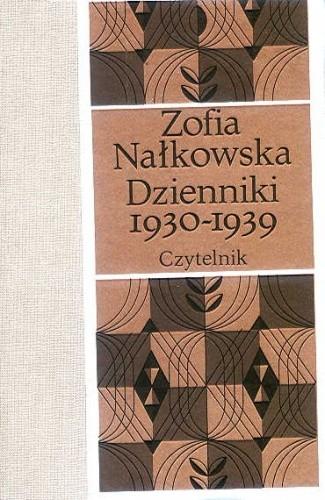 Okładka książki Dzienniki 1930-1939