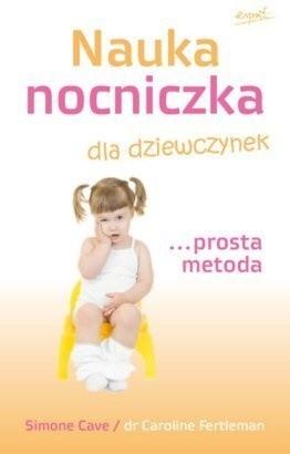 Okładka książki Nauka nocniczka dla dziewczynek... prosta metoda