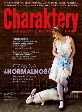 Okładka książki Charaktery 11 (165) / październik 2010