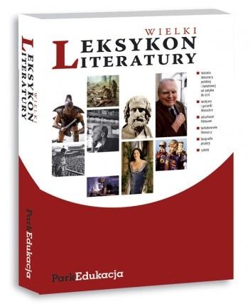 Okładka książki Wielki leksykon literatury