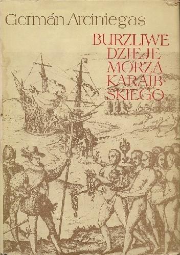 Okładka książki Burzliwe dzieje Morza Karaibskiego