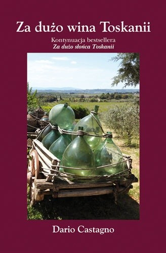 Okładka książki Za dużo wina Toskanii