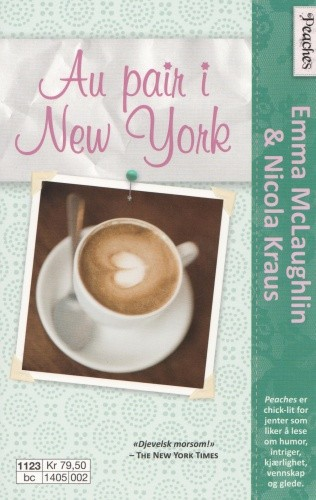 Okładka książki Au Pair i New York