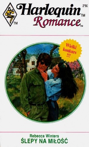 Okładka książki Ślepy na miłość