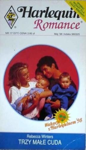 Okładka książki Trzy małe cuda