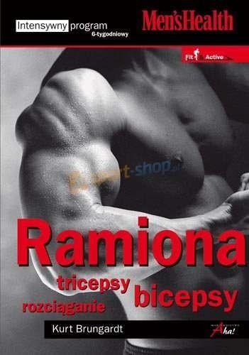 Okładka książki Ramiona. Triceps, biceps - rozciąganie