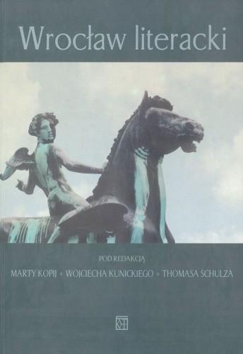 Okładka książki Wrocław literacki