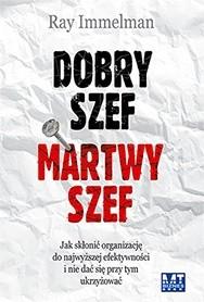 Okładka książki Dobry szef martwy szef