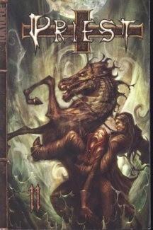 Okładka książki Priest 11