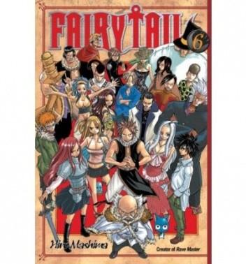 Okładka książki Fairy Tail Volume 06