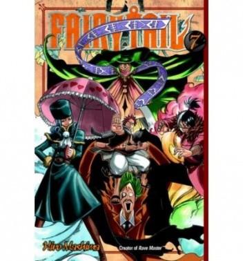 Okładka książki Fairy Tail Volume 07