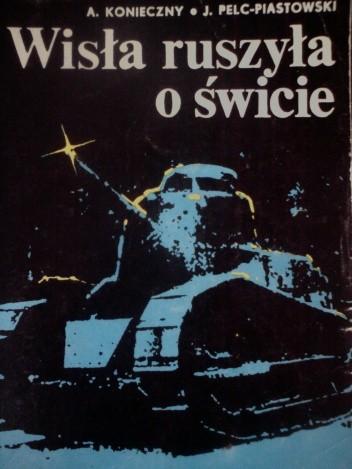 Okładka książki Wisła ruszyła o świcie
