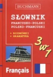 Okładka książki Słownik 3w1 francusko-polski, polsko-francuski