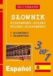 Okładka książki Słownik 3w1 hiszpańsko-polski, polsko-hiszpański