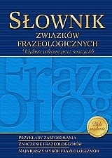 Okładka książki Słownik związków frazeologicznych