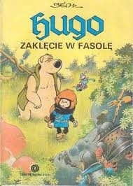 Okładka książki Hugo: Zaklęcie w fasolę
