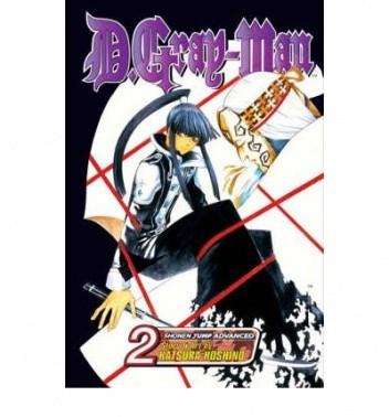 Okładka książki D.Gray-man Volume 02