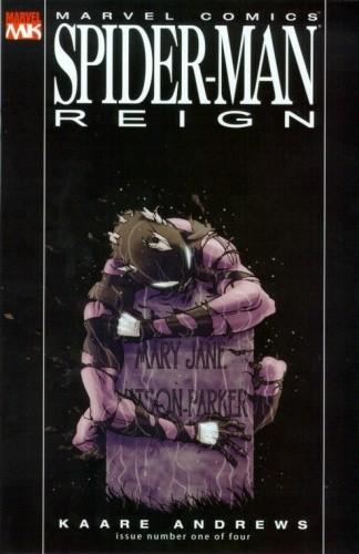 Okładka książki Spider-Man: Reign #1
