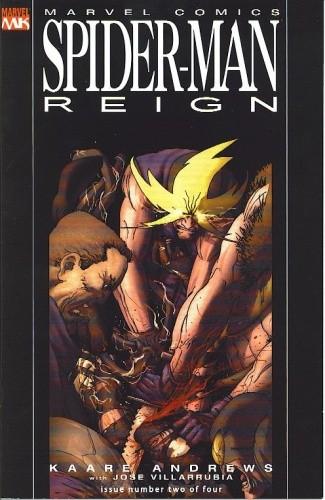 Okładka książki Spider-Man: Reign #2