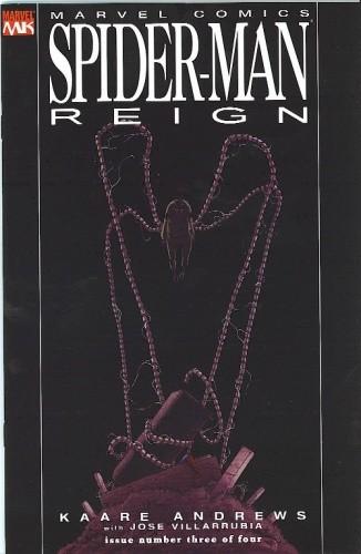Okładka książki Spider-Man: Reign #3