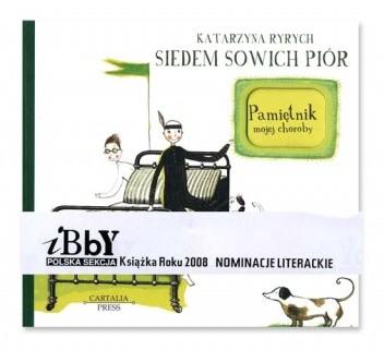 Okładka książki Siedem sowich piór. Pamiętnik mojej choroby