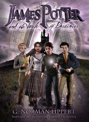 Okładka książki James Potter and the Vault of Destinies
