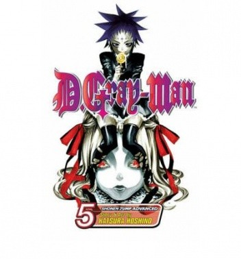 Okładka książki D.Gray-man Volume 05