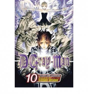 Okładka książki D.Gray-man Volume 10