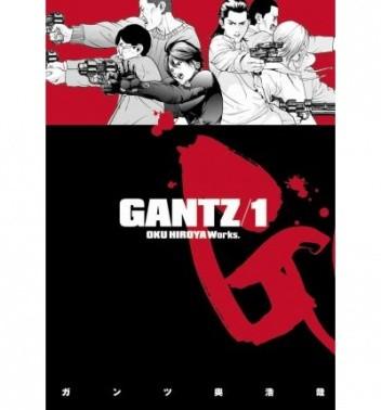 Okładka książki Gantz Volume 01