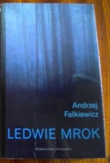 Okładka książki Ledwie mrok