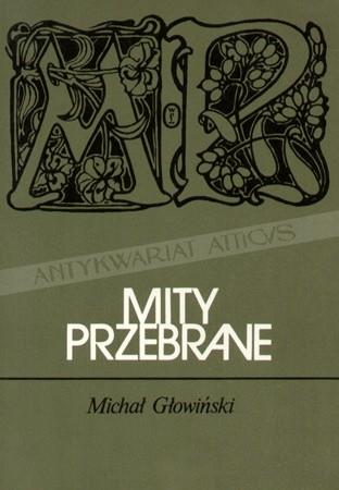 Okładka książki Mity przebrane