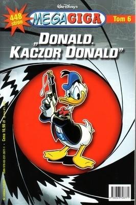Okładka książki Donald, Kaczor Donald