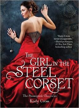 Okładka książki The Girl in the Steel Corset