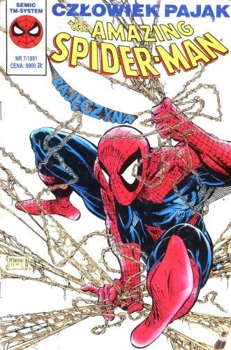 Okładka książki The Amazing Spider-Man 7/1991